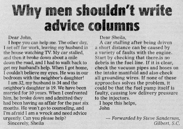 advice column