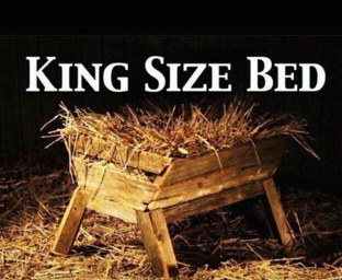 king sized bed