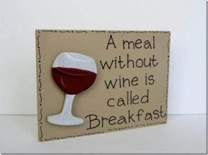 wine breakfast