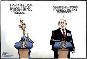 obama netanyahu cartoon 2