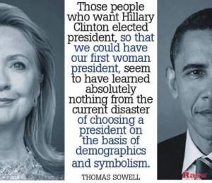 hillary obama sowell