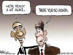 obama reagan