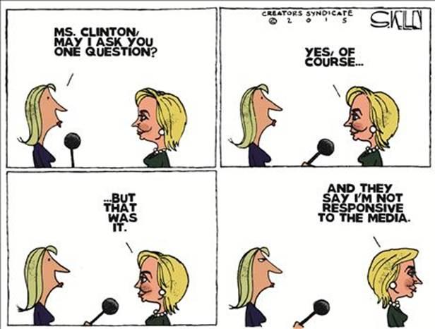 hillary media