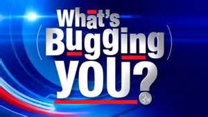 bugging you