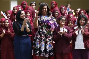 obama at muslim school girls