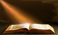 bible and light