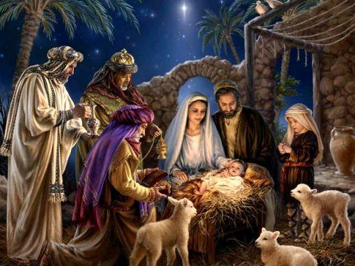 nativity scene 2015