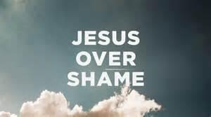 jesus over shame