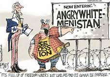 angry white men cartoon