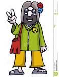 man hippie