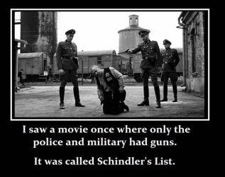 gun control schindler list