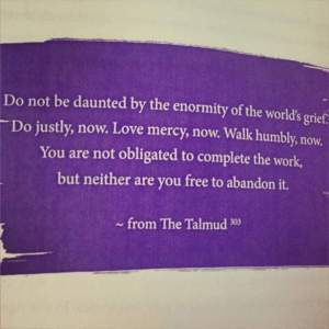 do not be daunted