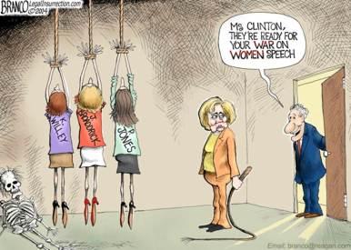 hillary war on women
