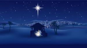 blue-christmas-scene